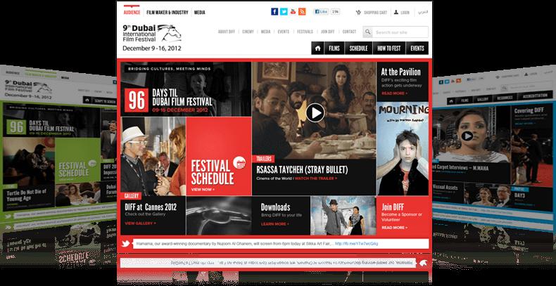 DIFF website screenshot