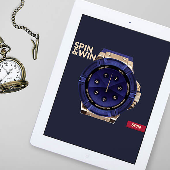 Spin and Win App and Campaign