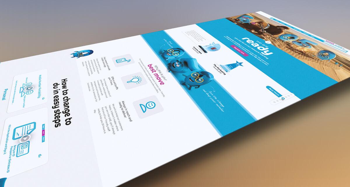 du change campaign microsite design