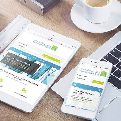 Business Banking Website
