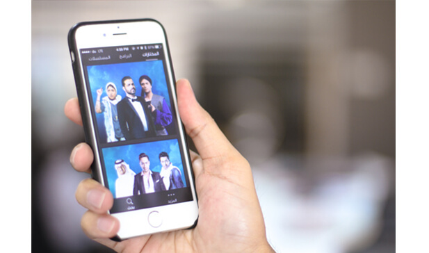 shahid.net mobile app case study banner
