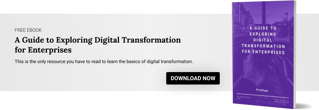 CTA Banner 1 - Guide to exploring Digital Transformation for Enterprises