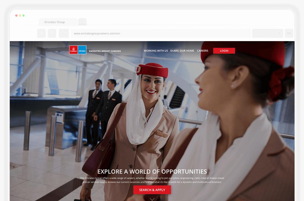 emirates group careers website home design