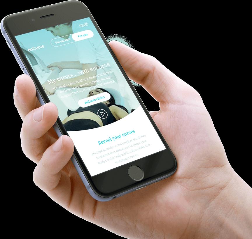 encurve website phone