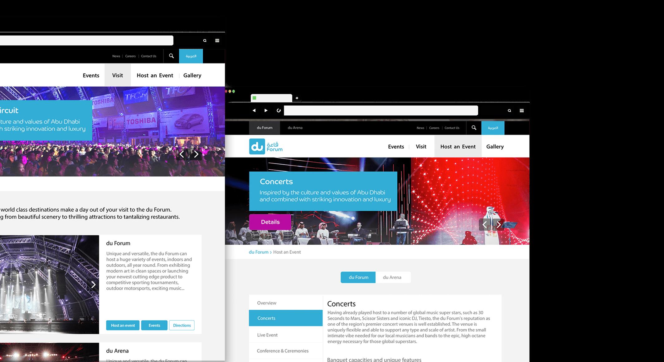 du forum website screenshot
