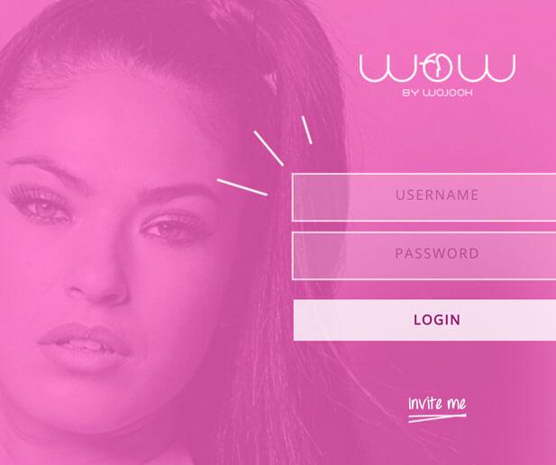 wow by woojoh website login