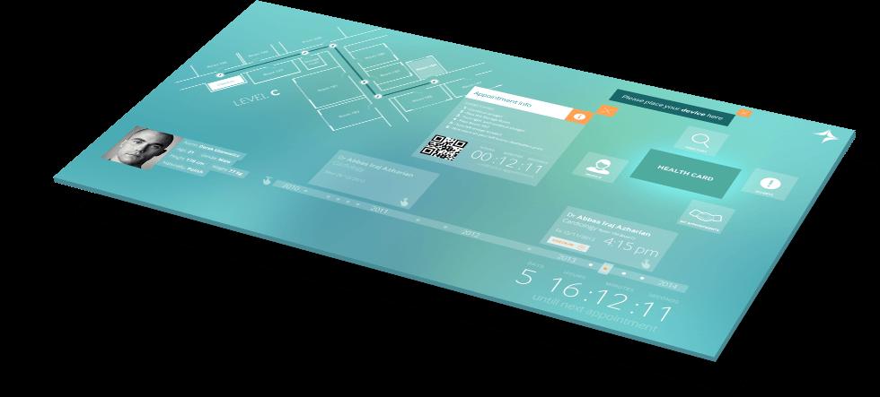 Dubai Health Authority PixelSense App case study banner