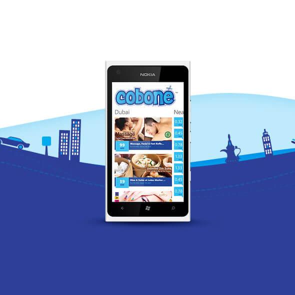 Cobone Windows Phone App