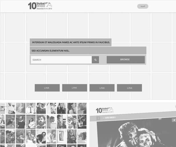 dubai international film festival film book website screenshot