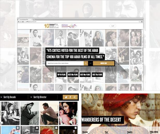 DIFF film book website screenshots