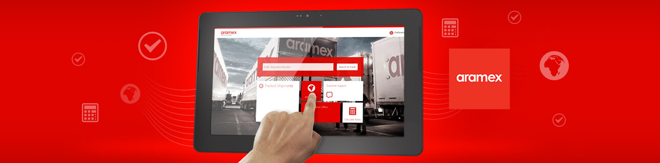 aramex shop and ship case study banner