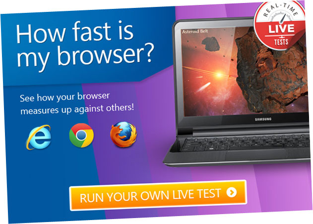 how fast is my browser campaign stages