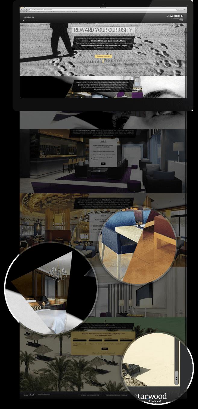 Mina seyahi website full design