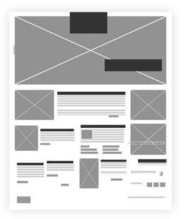 Emaar the Montgomerie website wireframe