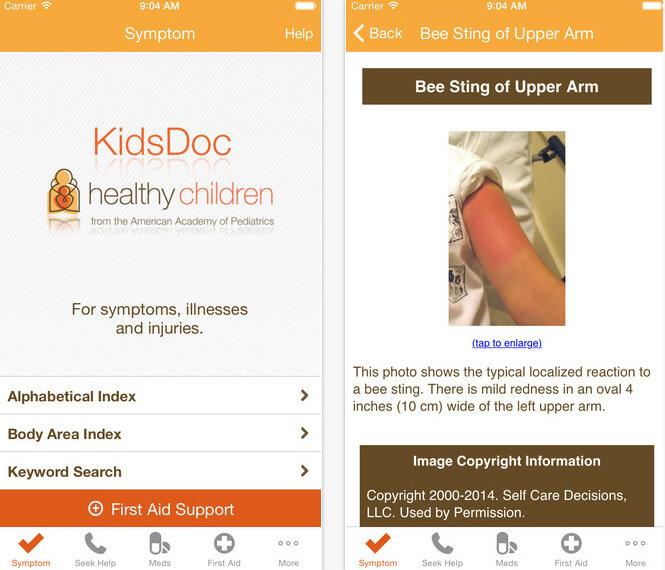 KidsDoc app
