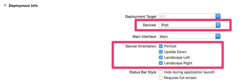 Set the Base SDK to the latest iOS version