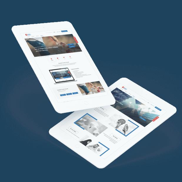 Modern Bank Website