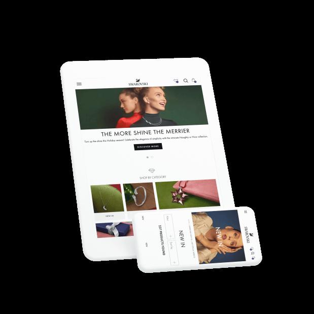Swarovski eCommerce Site