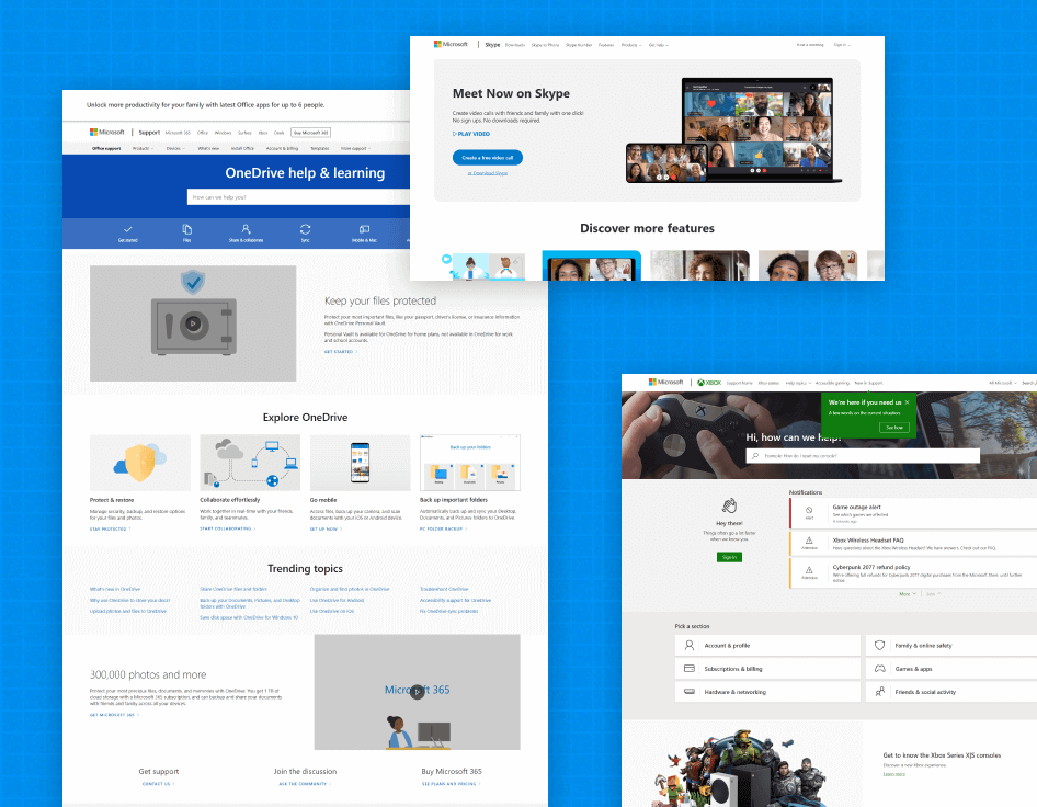 conglomerate design system microsoft
