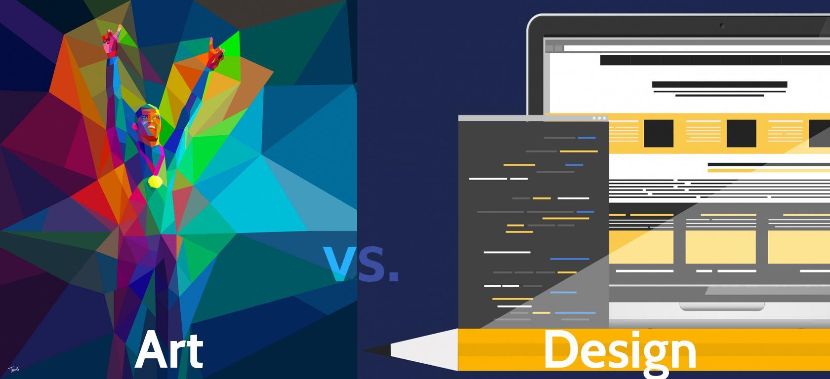 Art vs. Design, objective vs. subjective