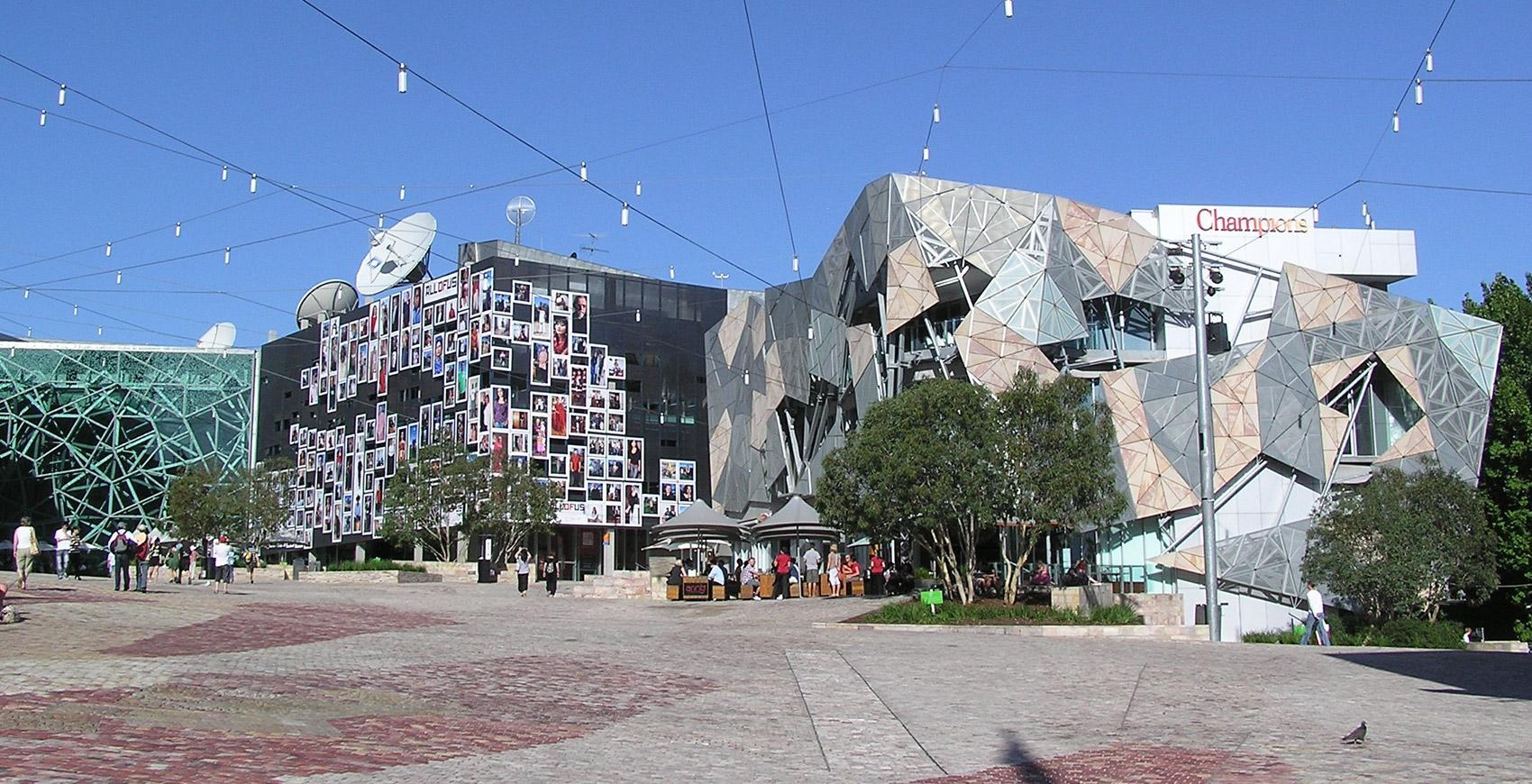 Federation Square building design Melbourne, Australia