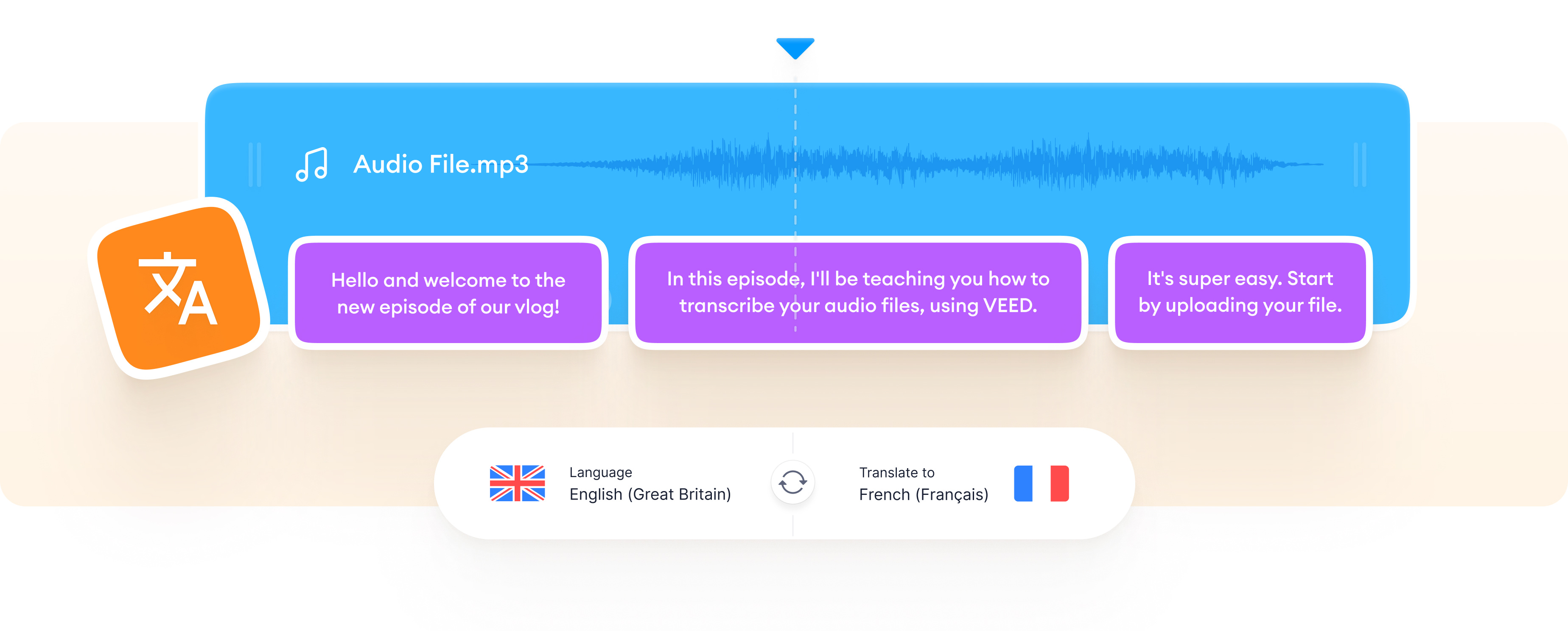Translate Audio to Text