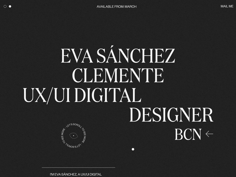 Eva Sánchez Clemente