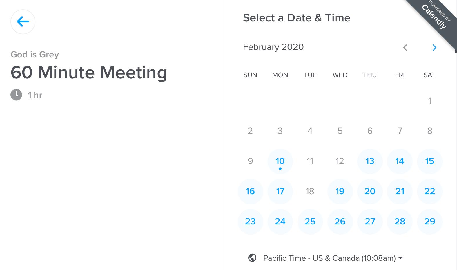 Calendly umawianie spotkań