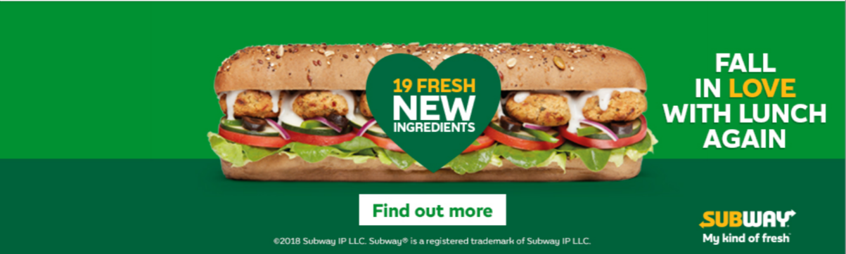 Subway Banner Creative Preview