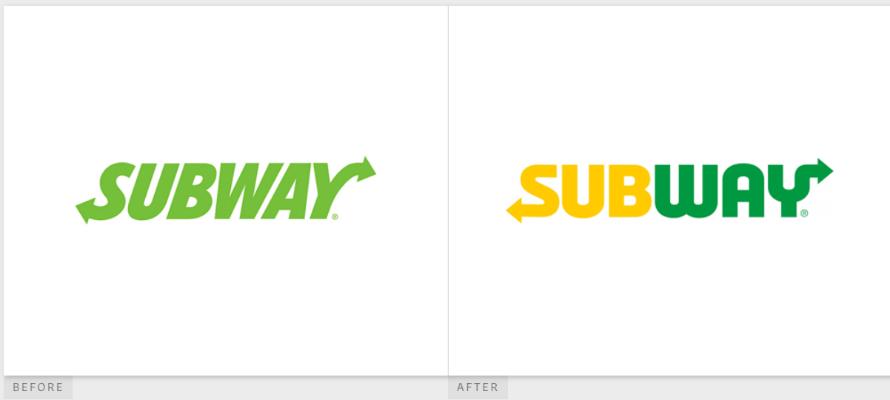Subway Logo Make-over | DEANLONG.io Marketing