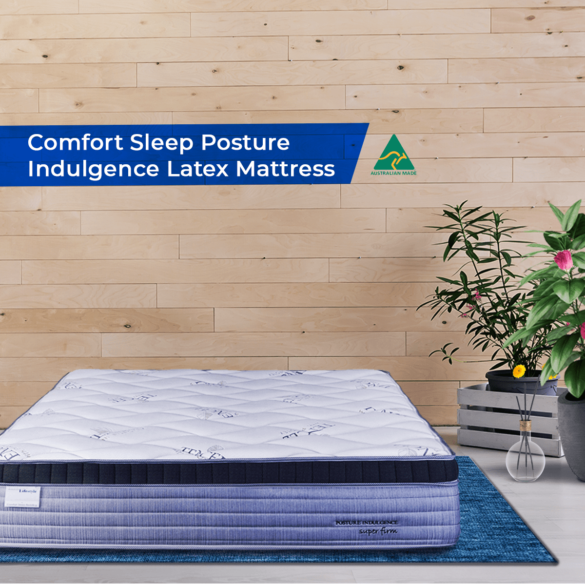Comfort Sleep Posture Indulgence Latex Mattress