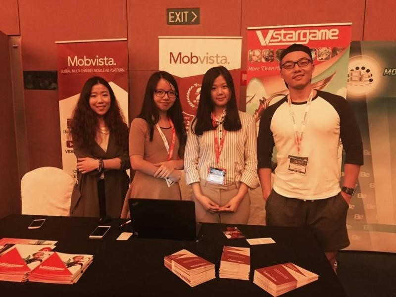 Casual Connect Singapore 2016 Mobvista Booth