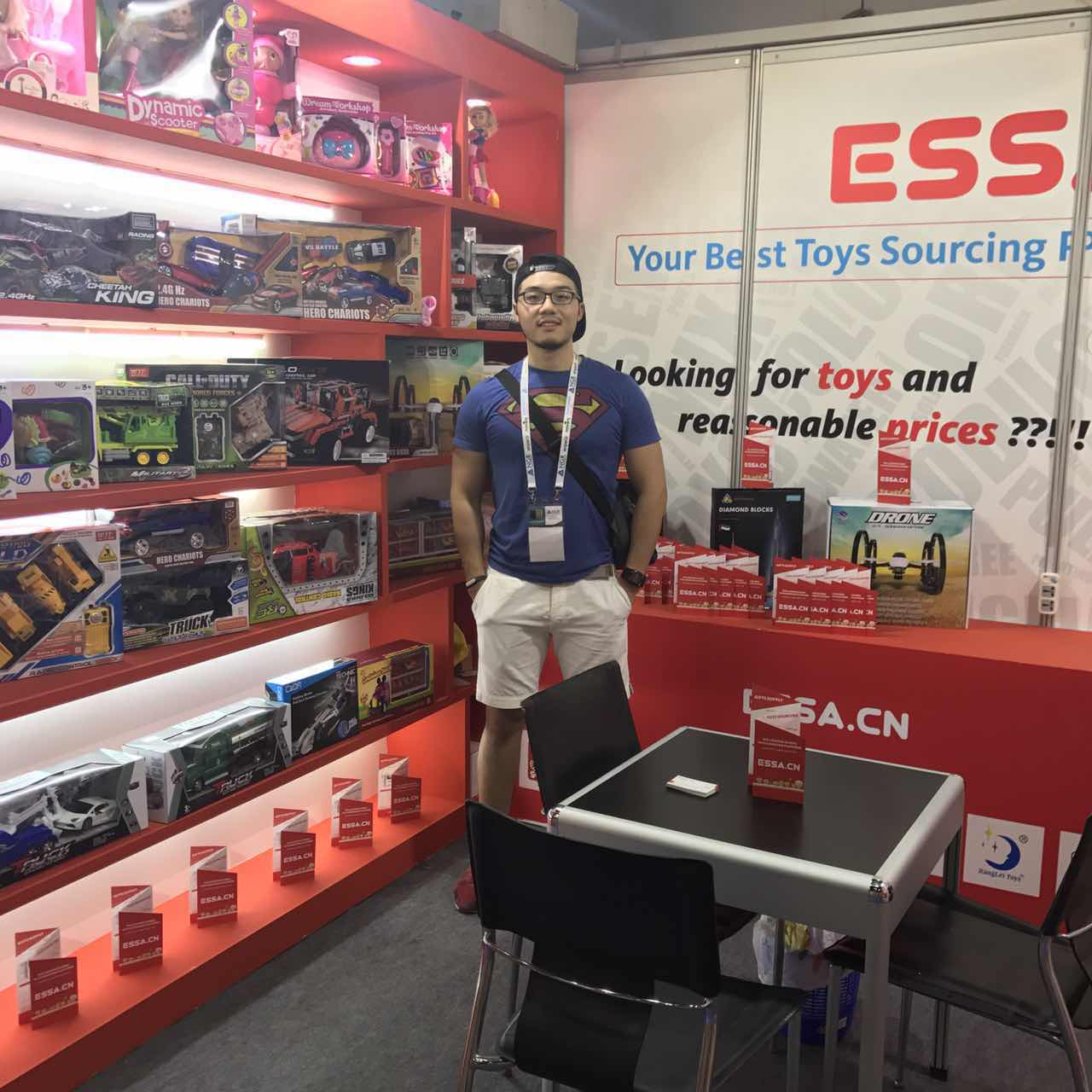 ESSA.CN in DUBAI Playworld Exhibition