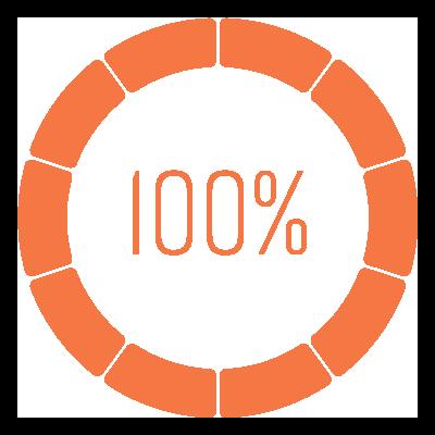 100% Customer Satisfaction Rate
