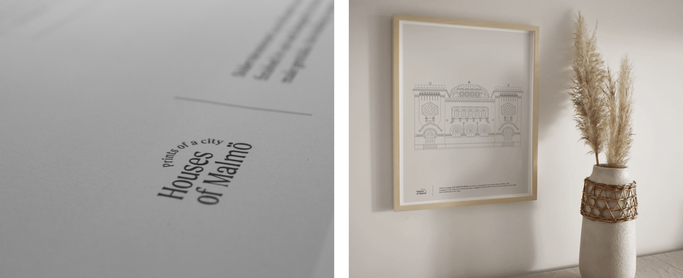 Mockups of HoM prints