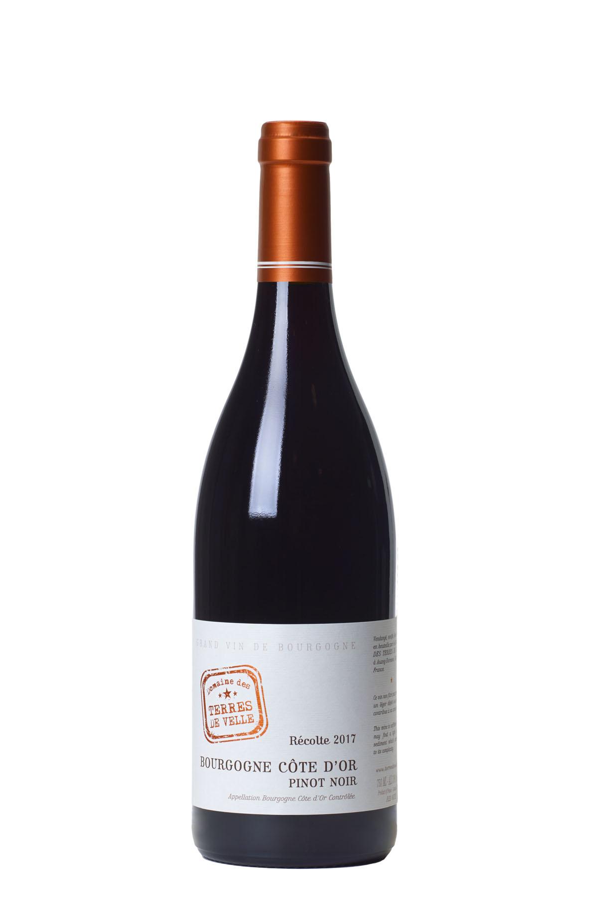 Domaine de Terres de Velle Bourgogne Côte d'Or Pinot Noir 2017