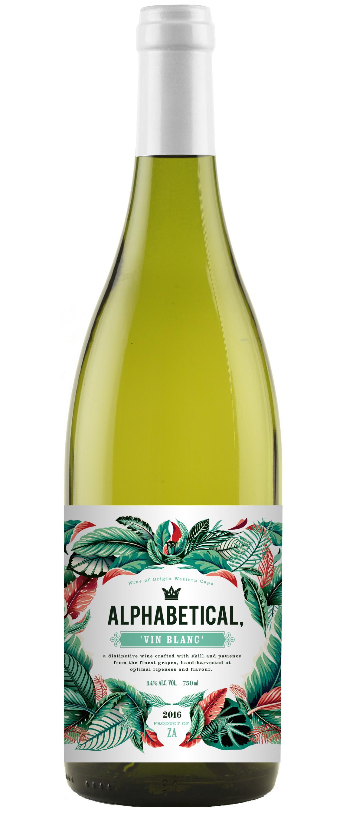 Alphabetical Vin Blanc 2017