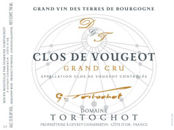 Domaine Tortochot Clos de Vougeot Grand Cru 2017