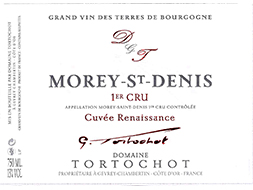 "Domaine Tortochot Morey-Saint-Denis 1er Cru ""Renaissance"" 2017"