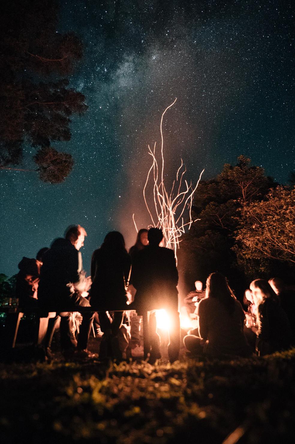 innovate around the fire
