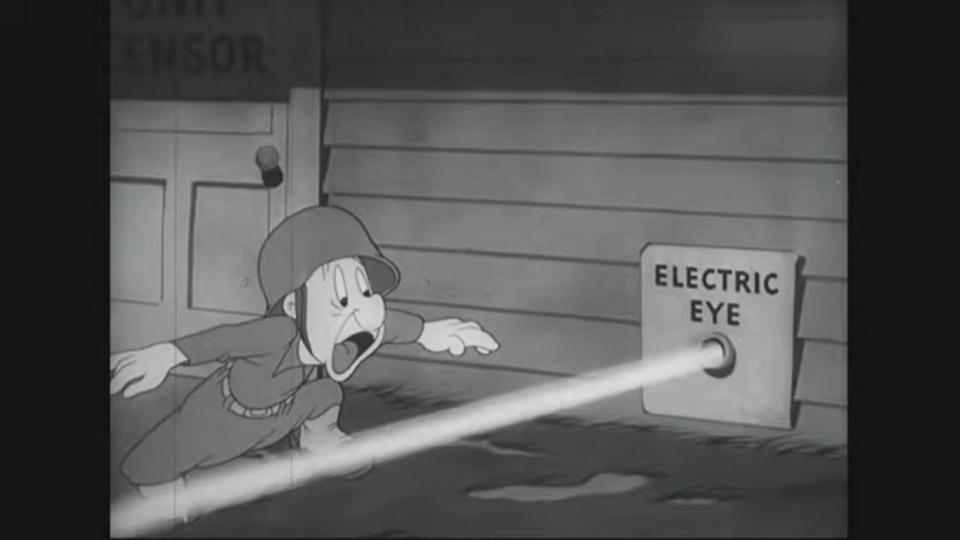 A cartoon in which Snafu writes to Sally that he is going to the South Pacific. The letter is censored and he unsuccessfully tries to mail an uncensored letter. On a Pacific island he dreams that he was successful but that the Japanese got the information and set a trap. He awakens and realizes the danger of revealing information.