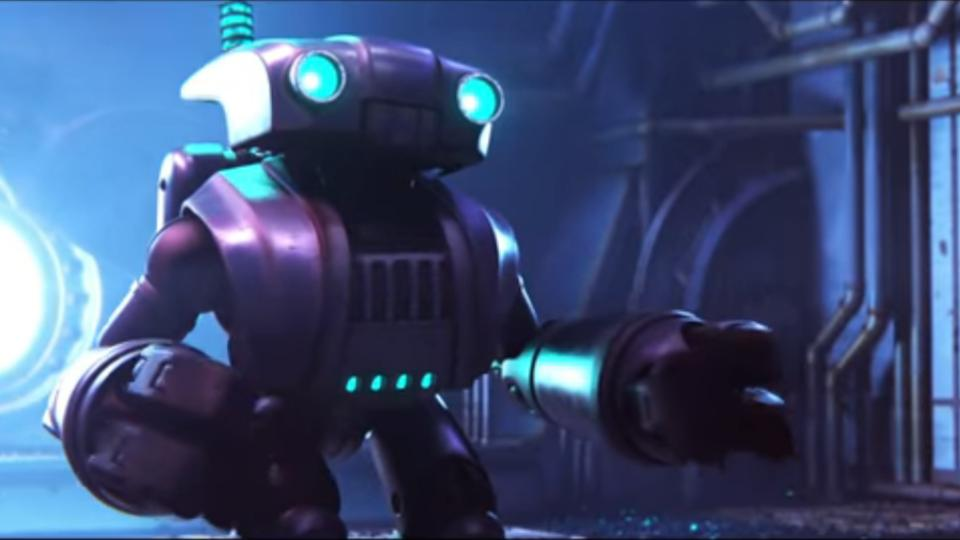 Smash and Grab, directed by Brian Larsen and produced by David Lally, is about two antiquated robots who risk everything for freedom and for each other after years of toiling away inside the engine room of a towering locomotive.