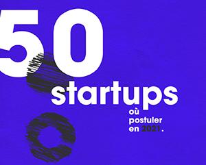 Guide des 50 startups 2021 par elinoï