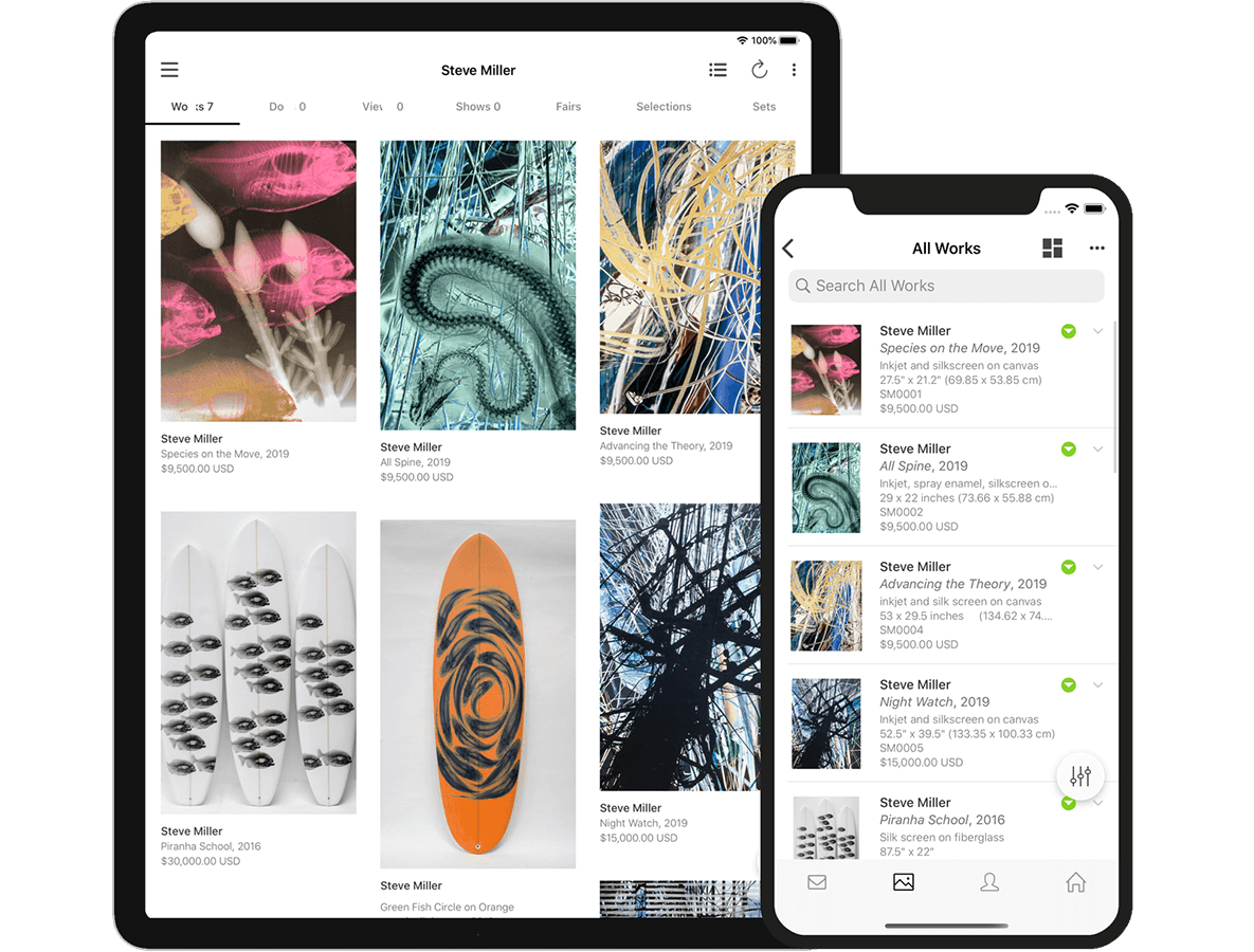 iPhone and iPad app screenshot