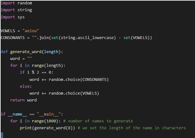 script example 1