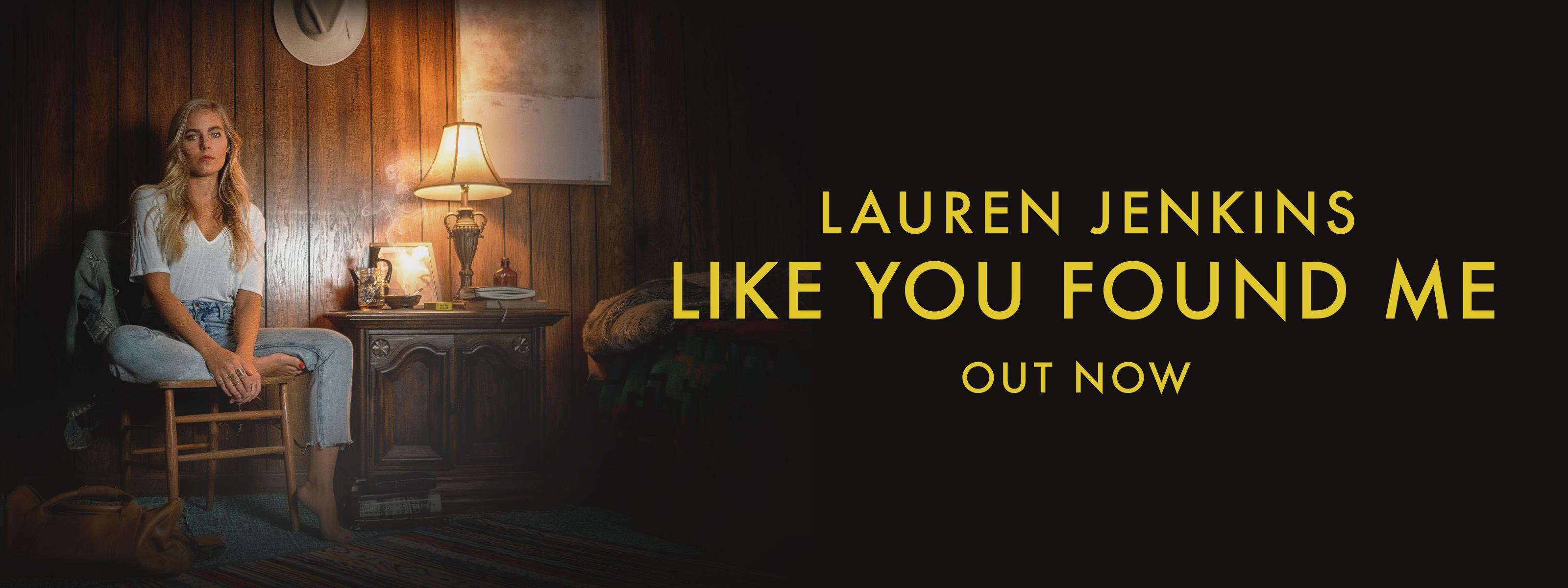 Lauren Jenkins like you found me