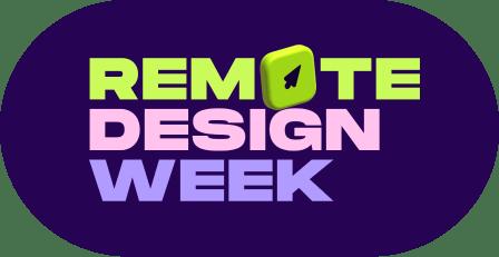 Remote Design Week logo