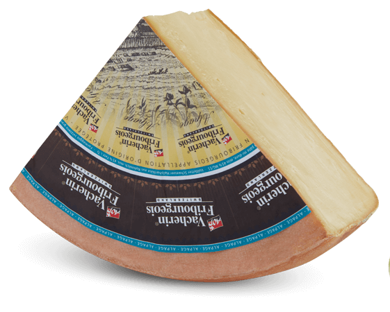Vacherin Fribourgeoise d'alpage from the Riggisalp
