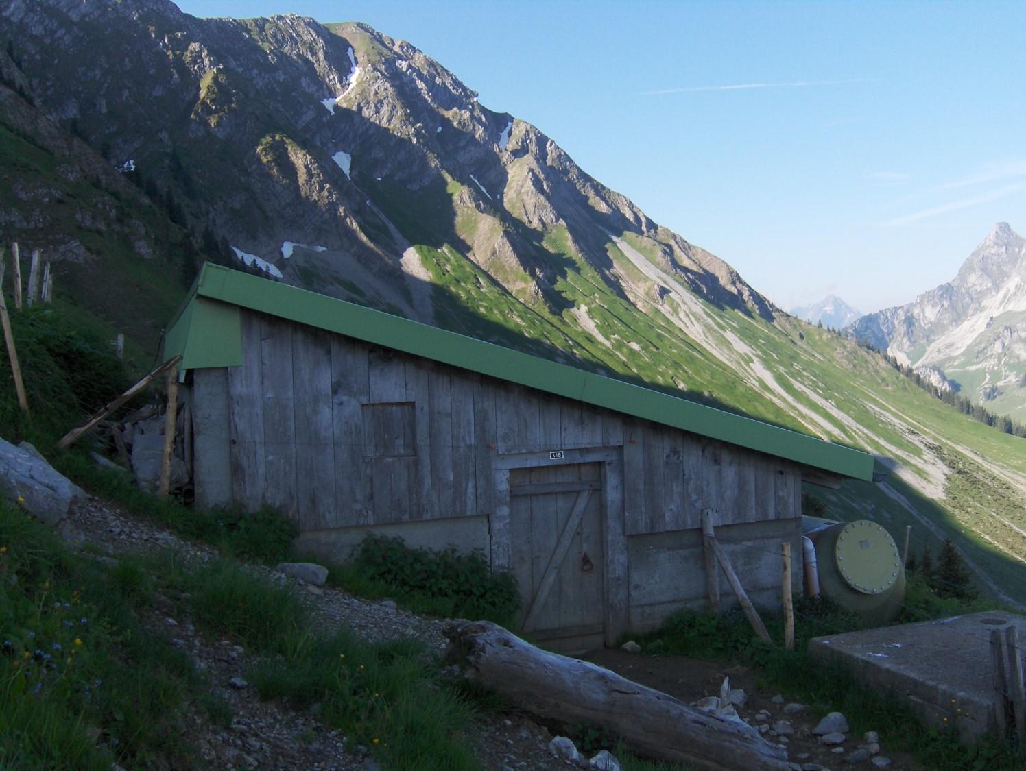 Ritzhütte Riggisalp