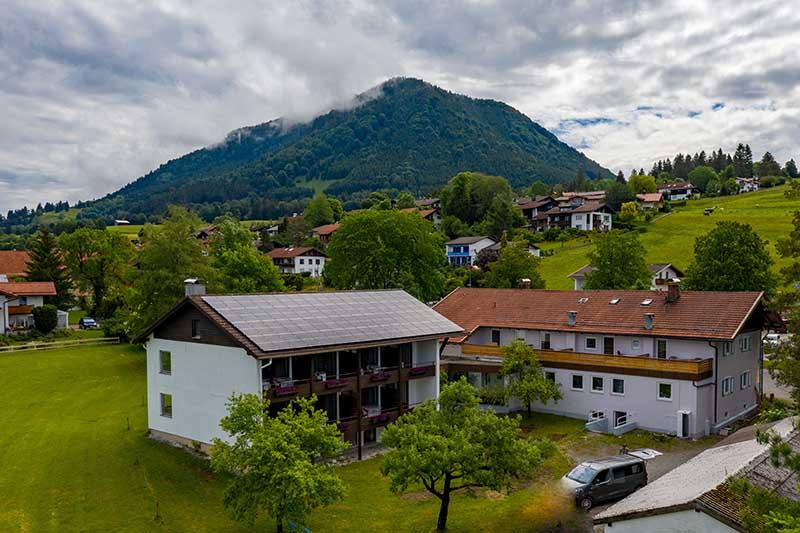 Schönes Hotel bei Füssen und Schloss Neuschwanstein